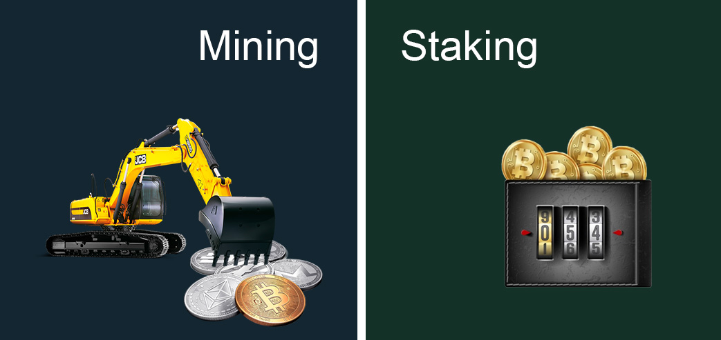Mining or staking