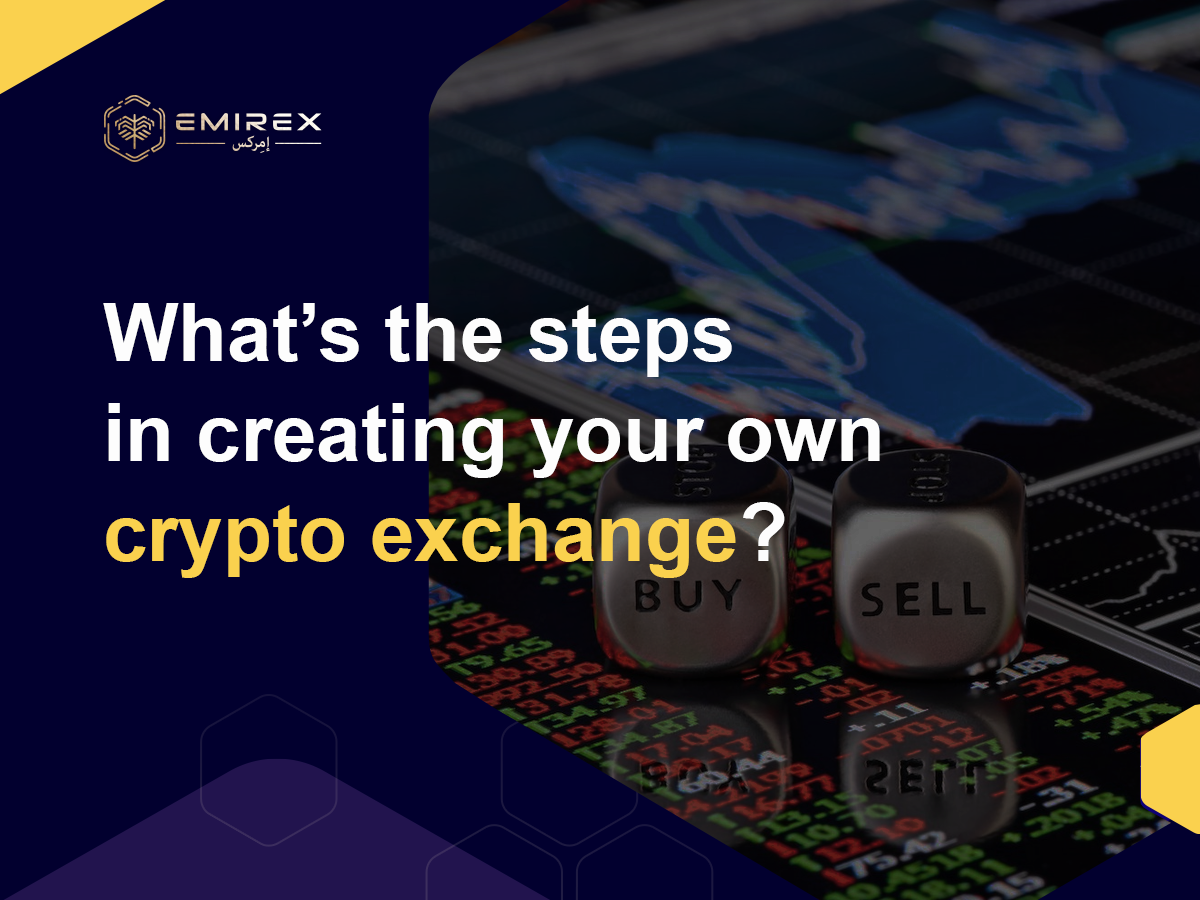 Own crypto exchange